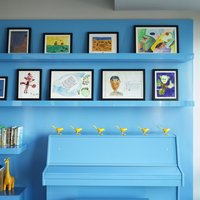 Please put kid's art in high quality custom frames: kids are only young once and their art should be displayed and last for a lifetime.  See more at framed & matted.  Get expert advice and buy a low-cost photo picture frame online.